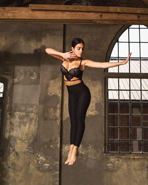 عکس خفن از دوست دختر مدل کریس رونالدو