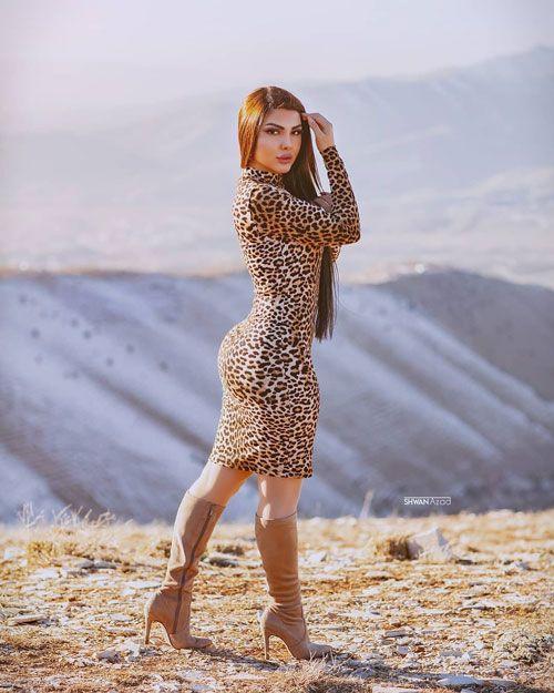 عکس های خفن شبنم باران مدل مشهور ایرانی