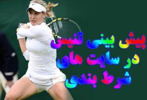 آموزش پیش بینی تنیس نکات مهم شرط بندی در تنیس