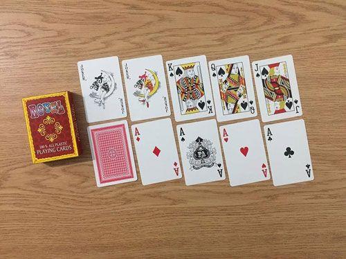 آموزش بازی هزاری _ کارت یا ورق پاسور و بازی هزاری چیست ؟